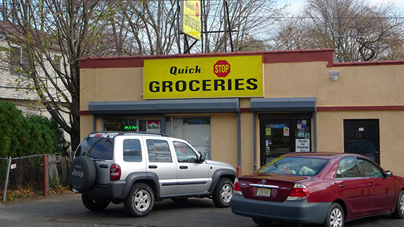 The Quick Stop convenience store is seen in New Jersey.